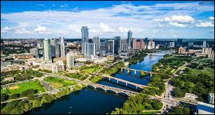 Où retrouve-t-on la ville d'Austin ?