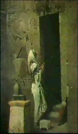 Un de ceux qui laissera une empreinte durable dans l'histoire de l'astrologie (IVe siècle av. J.-C.), grand prêtre du dieu Thot à Hermopolis, grâce à la consultation privée qu'il accorde à Alexandre le Grand, après sa victoire sur les Perses d'Égypte. Qui est-il ?