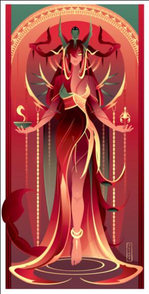 Serket est la déesse protectrice des guérisseurs et des sorciers, et elle a pour don de protéger du venin...