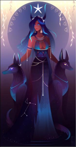 La déesse Sopdet est représentée portant sur sa tête...