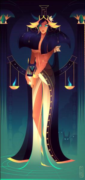 Nephtys est la déesse...