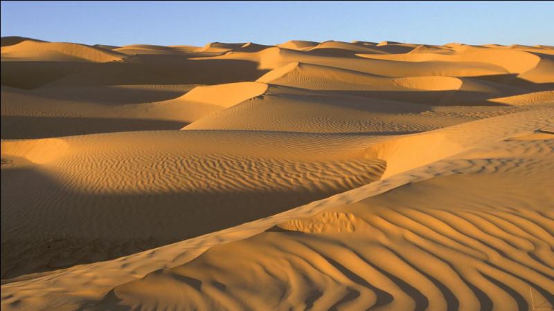 Sur combien de pays s'étend le Sahara, troisième plus grand désert du monde, sans compter le Sahara occidental ?