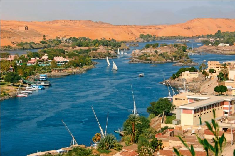 Pour finir, le fleuve le plus long d'Afrique est le Nil. Combien de kilomètres fait-il ?