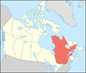 Quelle cette province, la plus grande du Canada dont la langue officielle est le français ?