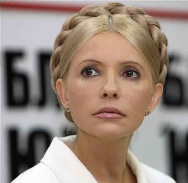 Ioulia Timochenko (UK) > Avant d'avoir l'eau dans le gaz en politique, cette dame était ...