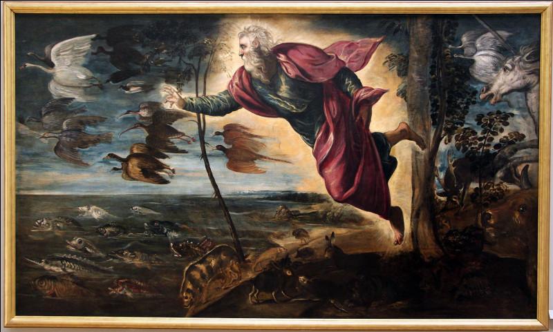 Selon les chrétiens, combien de temps aurait mis Dieu pour construire la Terre et ce qui la compose ?