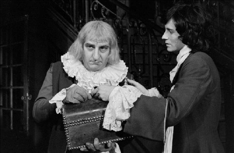 Quel est le nom de l'avare dans la comédie au titre éponyme de Molière ?