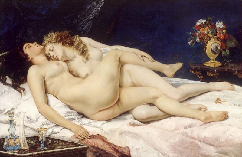 Qui est l'auteur de ce tableau dont le titre est ''Le Sommeil et Paresse et Luxure'' ?