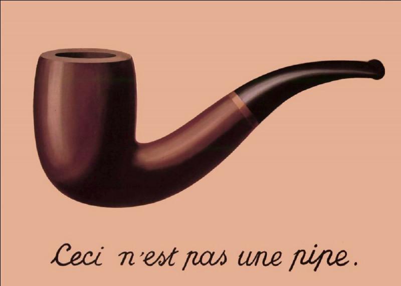Quel peintre belge est l'auteur du célèbre tableau ''La Trahison des images'' ?