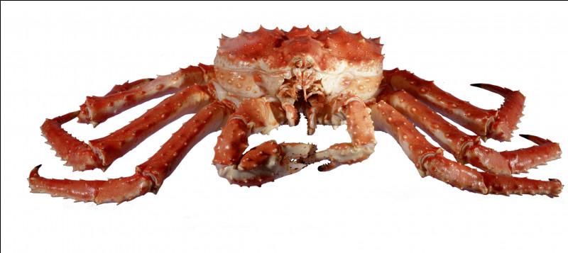 Quel et ce crustacé comestible, le plus recherché et le plus cher du monde qui se pêche dans les eaux russes du Kamtchatka ?