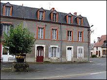 Commune néo-aquitaine, dans l'arrondissement de Guéret, Nouziers se trouve dans le département ...