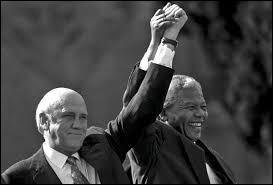 Qui était le président de l'Afrique du Sud de 1989 à 1994 ?