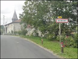 Nous terminons notre balade dans le Grand-Est, à l'entrée de Rumont. Petit village de 83 habitants, dans l'arrondissement de Bar-le-Duc, il se trouve dans le département ...