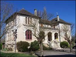 Commune néo-aquitaine, sur la rive gauche de la Garonne, Barie se situe dans le département ...