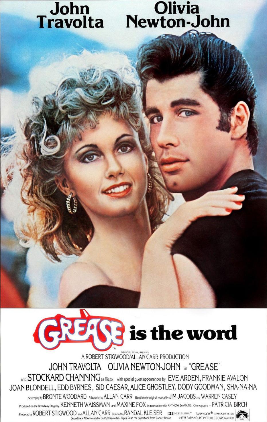 Quiz film Grease