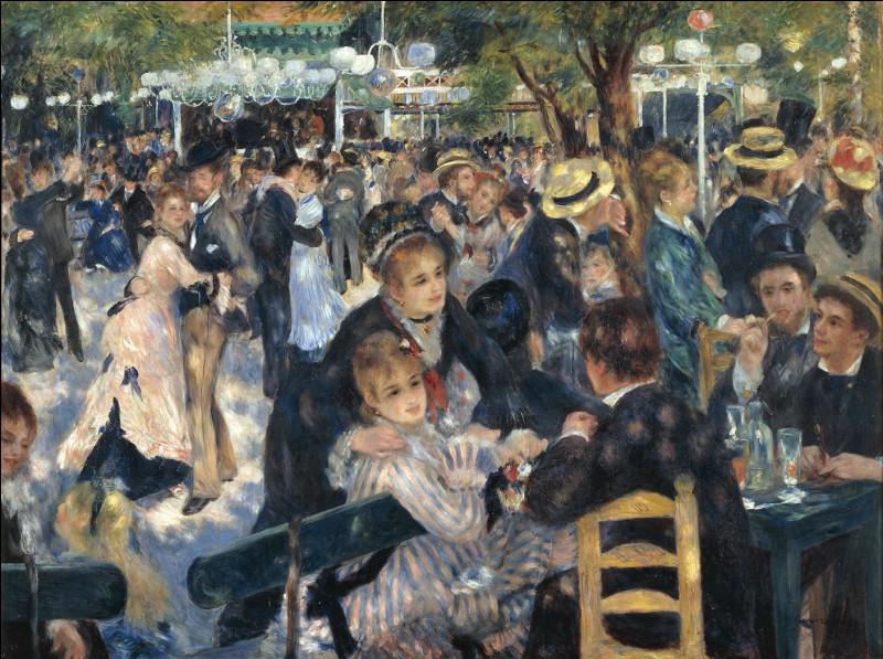 Qui est le peintre, auteur du tableau ''Le Bal du moulin de la Galette'' ?