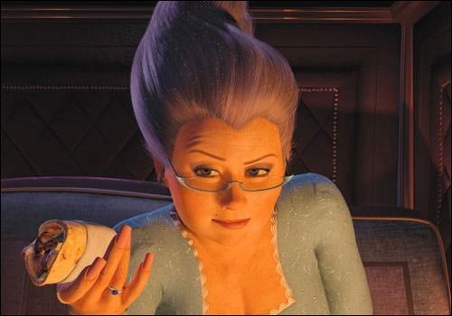 A la fin de Shrek 2, que veut ce personnage ? 'Je veux...'