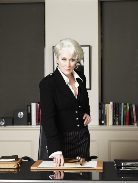 Quel est le titre de ce film dans lequel Meryl Streep est quelque peu 'endiablée' ?