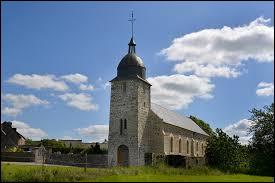 Et là, vous avez l'église Saint-Laurent, au Détroit. Commune Calvadosienne, elle se trouve dans l'ex région ...