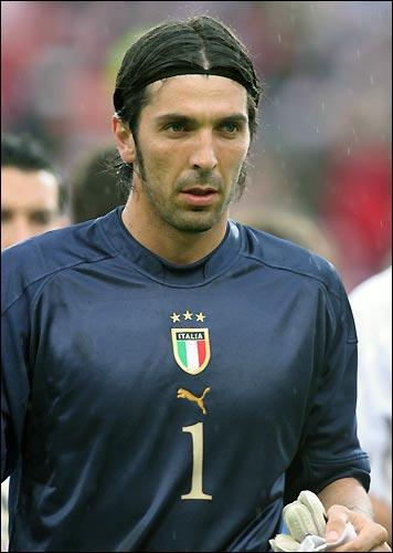Quel est l'actuel gardien de but de la séléction italienne ?