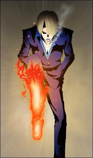 Dans quel arc Sanji fait-il son Diable Jambe ?