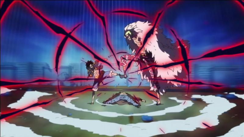 Quelle technique Luffy utilise-t-il face à Doflamingo ?