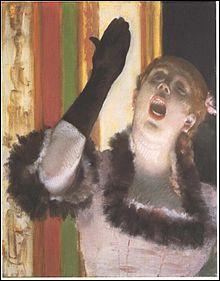 """Qui a peint """"La Chanteuse au gant """" ?"""