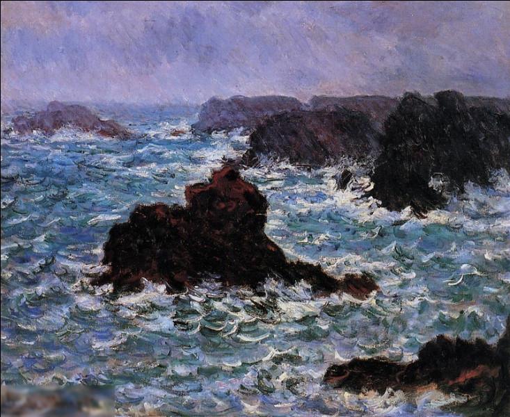 """Qui a peint """"Belle-Île, effet de pluie"""" ?"""