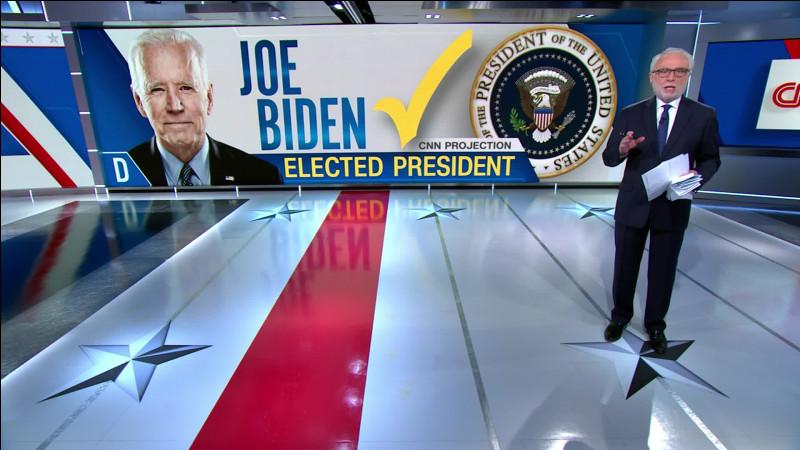 À quelle date les principaux médias américains annoncent-ils la victoire de Joe Biden ?