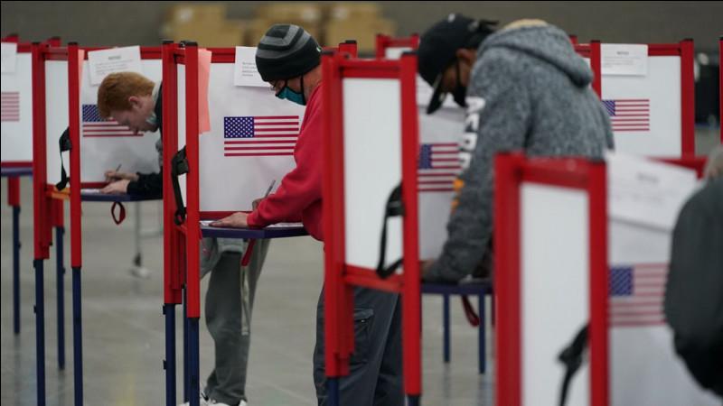 Quand a eu lieu l'élection présidentielle américaine de 2020 ?
