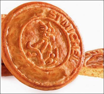 Quel est ce biscuit sablé au beurre originaire de Saint-Michel-Chef-Chef ?
