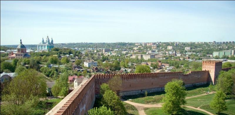 Ville russe de 320 000 habitants, située sur le Dniepr, dans l'ouest du pays, près de la frontière biélorusse :