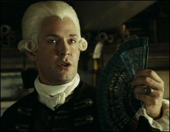 Lord Becket possède des lettres de marques qui peuvent faire de moi un homme libre. Mais il peut également me faire :
