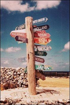 Qu'emporterais-tu pour un long voyage ?