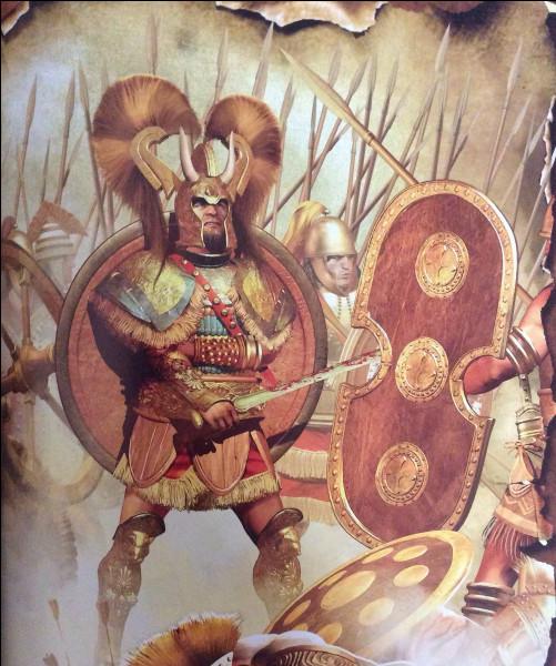 Ce roi mycénien sera le chef suprême de l'immense armée de la ligue Achéenne lors de la guerre de Troie. Qui est-il ?