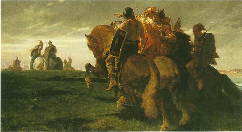 En 387 av J. -C, ce chef gaulois avec une puissante armée de tribus réunifiées, mit Rome à genoux. Qui est-il ?