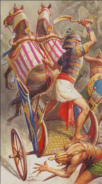 Général ambitieux et habile usurpant le pouvoir en devenant le dernier pharaon de la XVIIIe dynastie. Qui est-il ?