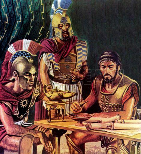 Chefs militaires de l'antiquité