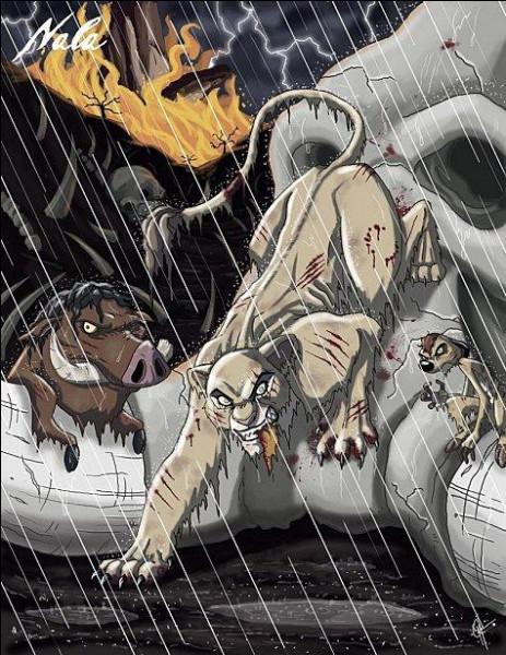Ils jouaient dans la savane quand ils se se sont fait attaquer par une hyène enragée !