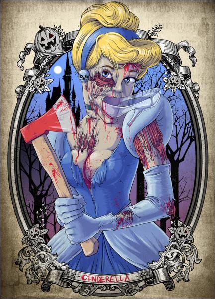 A minuit pile, elle s'est fait attaquer par une citrouille zombie !