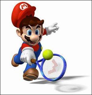 Ici, Mario joue au