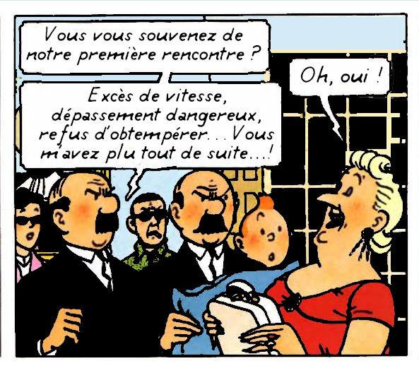 Tintin et les Toiles Mystérieuses (7)