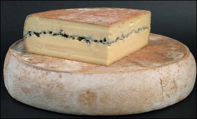 Quel est ce fromage au lait de vache, à croûte orangée avec une ligne cendrée centrale, une spécialité de Franche-Comté ?