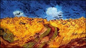 Quel oiseau peut-on voir sur cette toile de Vincent van Gogh ?