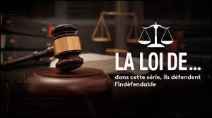 """Dans la série """"La Loi de..."""", qui incarne l'avocat ?"""