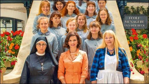Cette comédie française sortie en 2020 avec Juliette Binoche raconte la vie d'une institution de jeunes filles en plein Mai 68. Quel est le bon titre ?