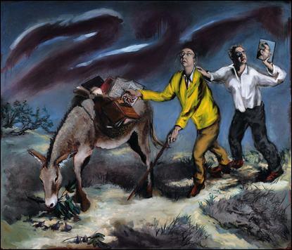 Peintre français contemporain né en 1946, il est préoccupé par l'origine de notre culture. Qui est cet artiste qui revisite les classiques ?