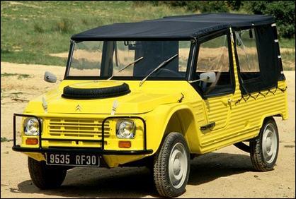 Cette auto fait partie du patrimoine industriel français. Quel est le nom de ce modèle culte sorti en 1968 ?
