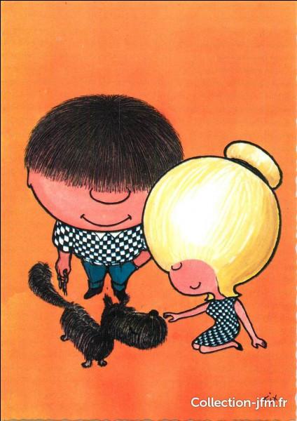 Chou comme Chouchou, mascotte des années 60, de qui Chouchou était-il indissociable ?