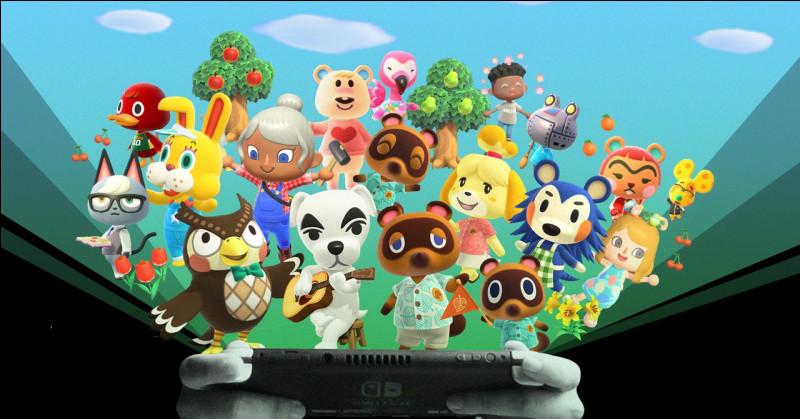 "Quelle est la devise principale de ""Animal Crossing"" ?"